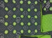 Satin cotton bandhni dress material avaiable at reasonable rates.