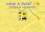 Parking & loo locator for smart phones