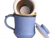 Ayurvedic Tea Mug light blue