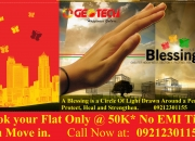 Buy 2 BHK Flats Only @30 Lacs in Geotech Blessings Noida extension