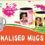 Mug printing available @ 75/- offer till Jan 15th 2015 Hurry