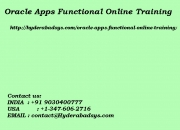 Oracle Apps Functional Online Training | Online Oracle Apps Functional Training in usa, uk