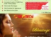 Fully furnished 2/3 bhk flat @30 lakhs in geotech blessings noida