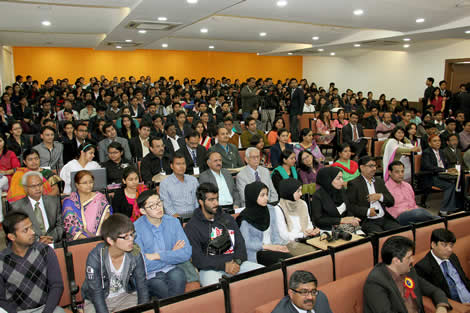 Ninth international conference at mba institute in india