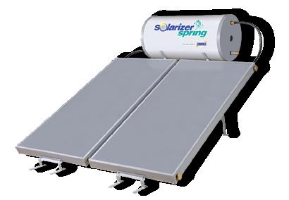 Solarizer water heater - spring model