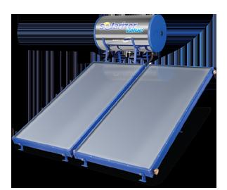Solarizer water heater-value model
