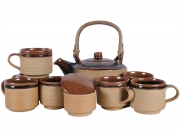 Assam Bamboo Tea Set