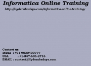 Informatica Online Training | Online Informatica Training in usa, uk, Canada, Malaysia, Au
