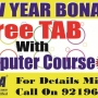 get a free tablet with computer cources