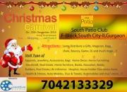 CHRISTMAS CARNIVAL -South Patio Club-Gurgaon