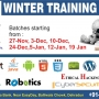Embedded system and Robotics Winter Training 2014-2015 in Dehradun