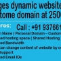 Website development or Website promotion package starts at 2500 Rs. in mumbai, maharashtr