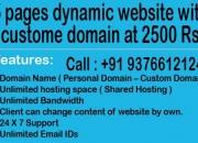 Website development or Website promotion package starts at 2500 Rs. in mumbai, maharashtr