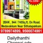 Flat sale sithalapkkam