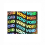 Hologram Stickers - Void Void -15mm X 20mm Rectangle ( 7,000 Stickers Per Pack )