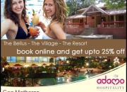 25% Off on Goa & Matheran Resorts!