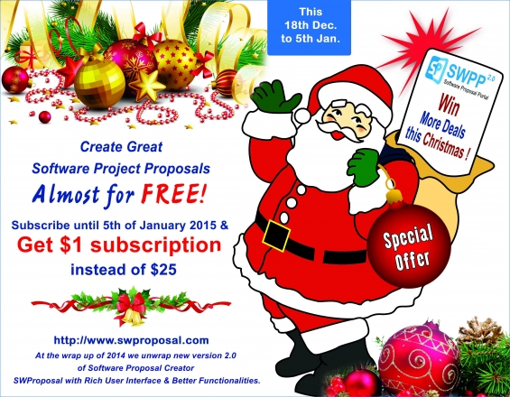 Swproposal christmas offer- business plan available just at $1