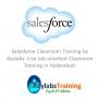 Salesforce Class room Training in Hyderabad