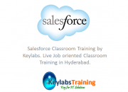 Salesforce classroom Training in Hyderabad : Keylabs
