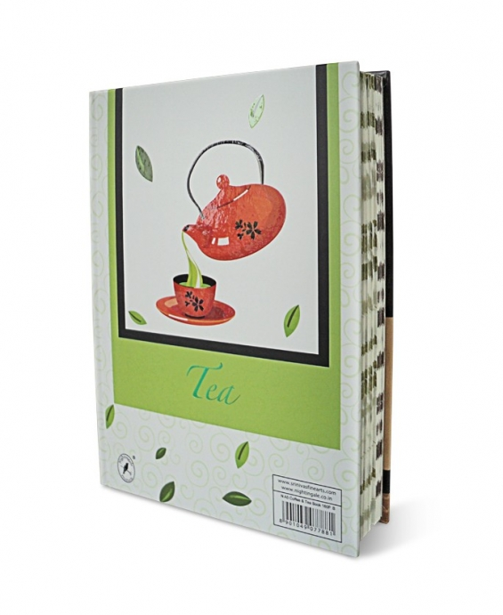 Feel the aroma and taste of coffee and tea with themed journals from nightingale