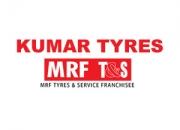 Kumar tyres authorized mrf tyres & service franchise noida - 9650965800, 0120-4260418