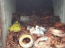 Scrap copper, scrap metals
