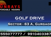 Sunrays heights golf drive sector 63a gurgaon @ 8468003302