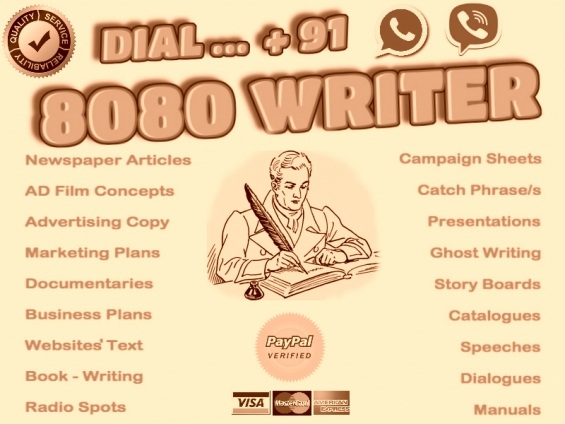 Writing services