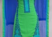 Whole sale dress material jhorjet chiffon dupatta designer work 3 colour available