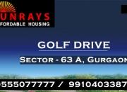 Sunrays heights golf drive affordable housing gurgaon @ 8468003302