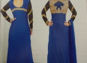 Whole sale long straight designer dress material