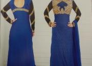 Wholesalelong straight designer dress material