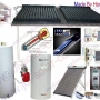 Forced Flow Solar Water Heater