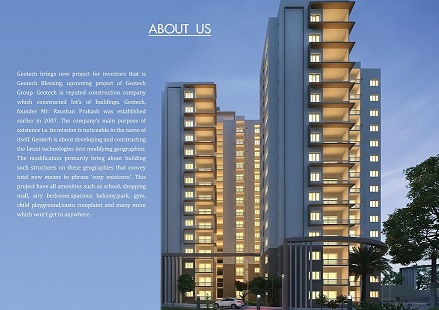 Geotech blessings sector - 1, greater noida west