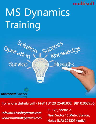 Ms dynamics training , ms dynamics certifications