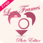 Love Photo Frame Editor