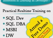 Realtime Online Training on MSBI @ SQL School