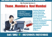 Laptop Repairing In Thane, Mumbai & Navi Mumbai