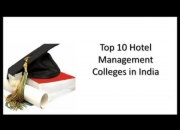 Top 10 Hotel Management Colleges to Apply in India