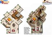 2bhk 3bhk Flats Amaatra Homes, 2bhk 3bhk Flats Homes Greater noida west