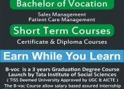 Admission Open For B.Voc Program in Noble Institute