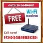Airtel WiFi Broadband with Free Landline (Ahmedabad)