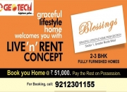 Fully Furnished 2/3 BHK Flats in Noida