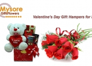 Send Valentine's Day Gifts, Roses, Cakes to Mysore