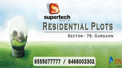Supertech plots new project gurgaon @ 8468oo33o2