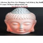 Buy Buddha Head Ceramic Oil Burner - Importwala.com
