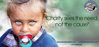 Charity trust activities in bangalore
