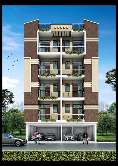 Mig flat foor 21 lacs at noida extension