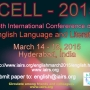 ICELL - 2015 6th International Conference on English Language and Literature