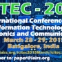 ICITEC - 2015  International Conference on Information Technology, Electronics and Communi